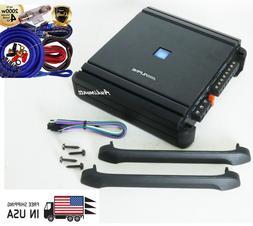 Alpine MRV-M500 500W Mono Subwoofer Car Power Amplifier + 2