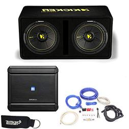 Alpine MRV-M500 Amplifier and a Kicker DCWC122 Dual CompC 12