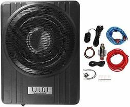 "NEW 10"" 600W Powered Subwoofer Bass Speaker w/ Enclosure Box"