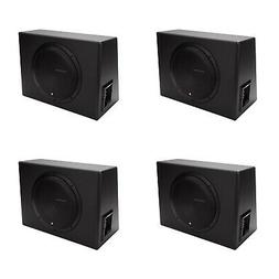 "New Rockford Fosgate 12"" 300 W Single Powered Subwoofer Sub"