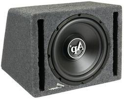 "NEW 12"" Powered Car Audio Bass Subwoofer Speaker.Ported Encl"