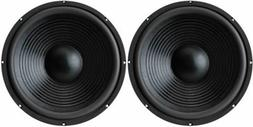 """NEW 15""""  Subwoofer Replacement Speakers.8 ohm Home Audio woo"""