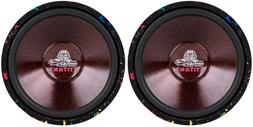 """NEW  10"""" Subwoofer Bass Replacement.Speakers.4 ohm.Car Home"""