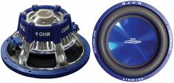 """NEW  12"""" DVC SubWoofer Speakers.dual 4 ohm voice coil.bass s"""