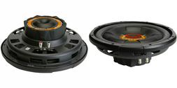 """NEW  12"""" SVC Subwoofer Bass.Speakers.4ohm.Shallow Depth slim"""