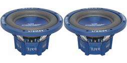 """NEW 8"""" DVC SubWoofer Speakers.bass sub woofer PAIR.Dual 4ohm"""