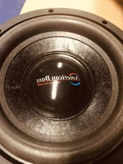 "NEW 8"" AB DVC Subwoofer Bass Speaker.Dual 4 Ohm Voice Coil.C"