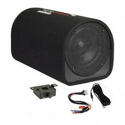 "NEW 8"" Powered Bass Tube Subwoofer.built in Amplifier.Car Au"