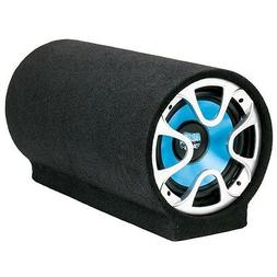 """NEW 8"""" Powered Bass Tube Subwoofer Speaker.Enclosed Active S"""