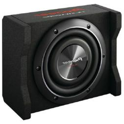 """NEW 8"""" Pioneer Shallow Depth Subwoofer Speaker Box Bass Syst"""