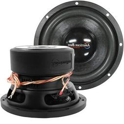 "NEW American Bass 8"" Woofer 600W Max 4 Ohm DVC XD844"