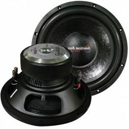 "NEW AB 12"" DVC 1000W Subwoofer Speaker.High Quality Bass Woo"