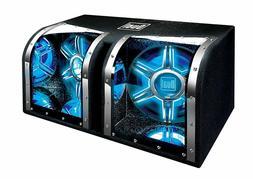 NEW Dual Electronics BP1204 12 inch illumiNITE Studio Enclos