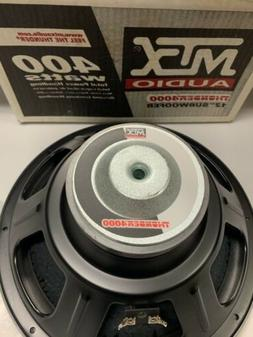 New in Box, Old School MTX Thunder 4000 12-inch Subwoofer 41