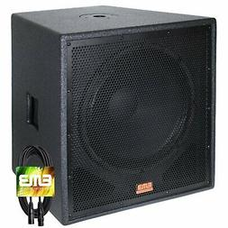 "New EMB Professional EBP15Sub Bass Gig 15"" 1500 Watt Active"