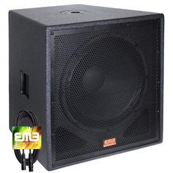 """New EMB Professional EBP18Sub Bass Gig 18"""" 2000 Watt Active"""