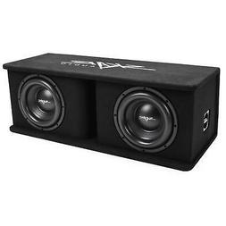 "NEW SKAR AUDIO SDR-2X10D4 DUAL 10"" 2400 WATT LOADED PORTED S"