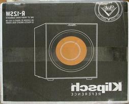 NEW SEALED - Klipsch R-12SW Powered Subwoofer - Black