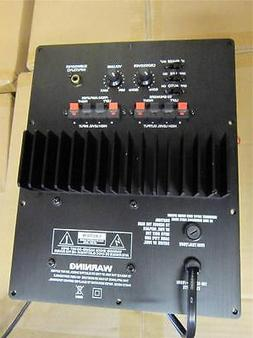 NEW Mega Bass Subwoofer Speaker Plate Amplifier.100w RMS.Hom