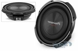 """Pioneer TS-SW2502S4 1200W RMS 10"""" TS Series Shallow Mount Si"""
