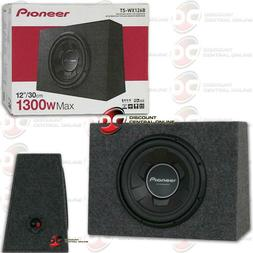 "New Pioneer TS-WX106B 1100 Watts 10"" Pre Loaded Compact Subw"