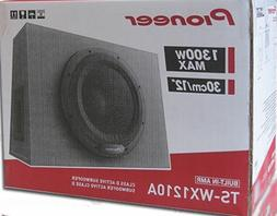 "NEW Pioneer TS-WX1210A 1300W 12"" Amplified Shallow Truck Sub"