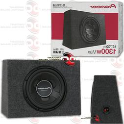 "New Pioneer TS-WX126B 1300 Watts 12"" Pre Loaded Compact Subw"