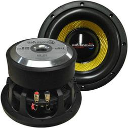 "NEW VFL8D4 American Bass 8"" Competition Woofer 800W max 4 Oh"