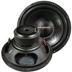 "NEW XD1544 American Bass 15"" Woofer 2000W Max 4 Ohm DVC"