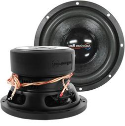 "NEW XD844 American Bass 8"" Woofer 600W Max 4 Ohm DVC"