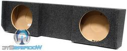 """FOR NISSAN TITAN 2004-2015 NST212 DUAL 12/"""" BOX SUBWOOFERS SPEAKERS ENCLOSURE NEW"""