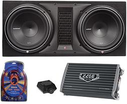 "Rockford Fosgate P2-2X12 12"" 1600W Loaded Subwoofer Sub Encl"