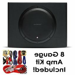 """Rockford Fosgate P300-12 12"""" 300W Sealed Powered Subwoofer S"""