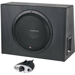 "ROCKFORD FOSGATE P300-12 300 WATTS 12"" POWERED AMPLIFIED SUB"