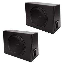 "Rockford Fosgate P300-12 12"" 300 Watt Single Powered Subwoof"
