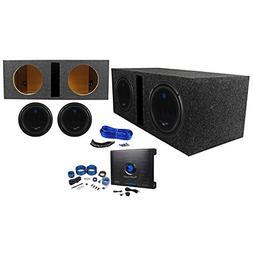 """Package:  Planet Audio AC10D 10"""" Dual 4-OHM Car Subwoofers T"""