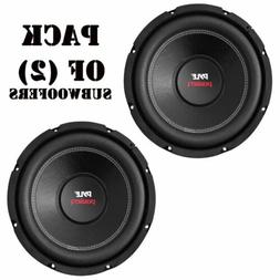 "Pair of Pyle PLPW8D 8"" 800W Dual 4 Ohm Subwoofers Car / Mari"