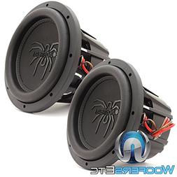 "Pair of Soundstream T5.102 10"" 1800W RMS Dual 2-Ohm T5 Serie"