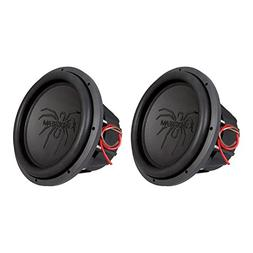 """Pair of Soundstream T5.124 12"""" 1000W RMS 2000W Max  Dual 4-O"""