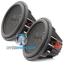 "Pair of Soundstream T5.154 15"" 1300W RMS 2600W Max  Dual 4-O"