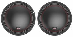 "MTX 5510-44 10"" 1600 Watt Peak DVC 4-ohm Car Audio Subwoofe"