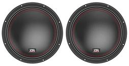 "MTX 5510-22 10"" 1600 Watt Peak DVC 2-ohm Car Audio Subwoofe"