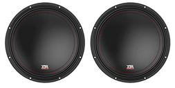 "MTX 3510-04 10"" 1000 Watt Peak SVC 4-ohm Car Audio Subwoofe"