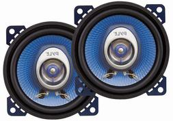 "4"" Car Sound Speaker  - Upgraded Blue Poly Injection Cone 2-"