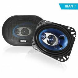 Pyle PL463BL 4-Inch x 6-Inch 240-Watt 3-Way Speakers New