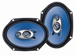 """6"""" x 8"""" Car Sound Speaker  - Upgraded Blue Poly Injectio"""