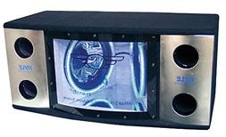 Pyle PLBN122 Dual 12'' 2 Way 1200 Watt Bandpass w/Blue Woofe