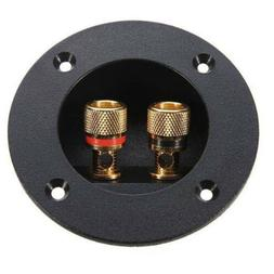 Plug Speaker Terminal Connectors Subwoofer Round Boxes With