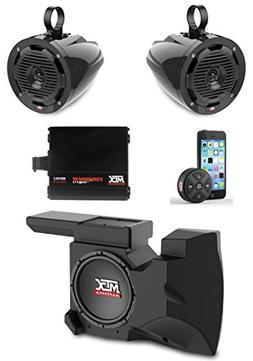 MTX Polaris RZR Remote Control Bluetooth Receiver All Weathe