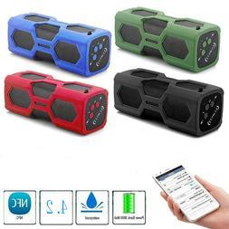 Portable Bluetooth 4.2 Wireless Speaker Waterproof Power Ban